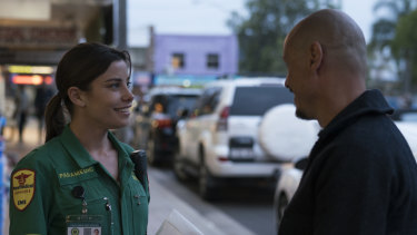 Brooke Satchwell as Ally, a paramedic who falls for hitman Ray Shoesmith without knowing what he does for a living.