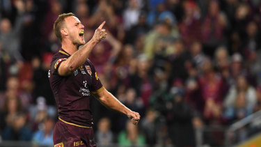 New leader: Queensland's Daly Cherry-Evans.