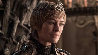 Lana Headey as Cersei Lannister.