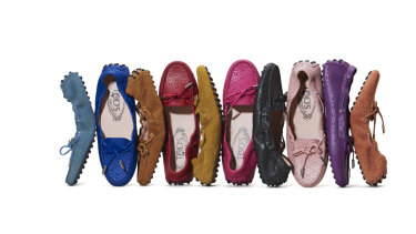 Tod's is famous for flats.