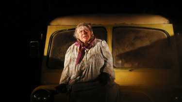 Miriam Margolyes stars in The Lady in the Van.