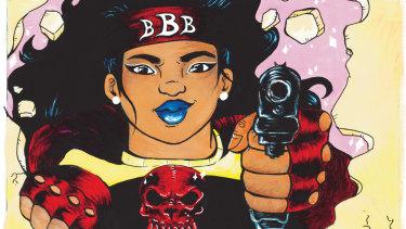 Blackie Blackie Brown.
