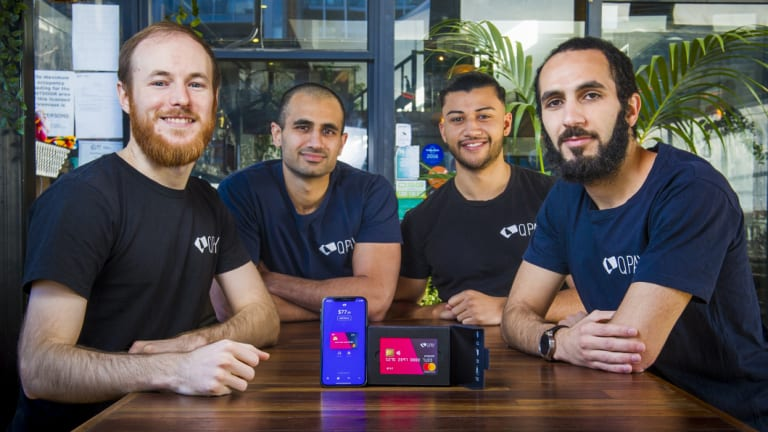 The QPay team will use its new funding from 'Shark Tank' to expand further into the UK.