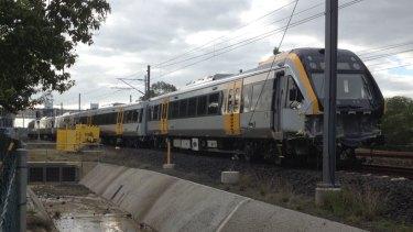 One of Queensland's new trains derails near Ipswich