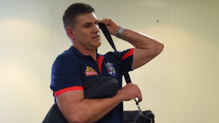 Jason McCartney left the Western Bulldogs to join GWS.