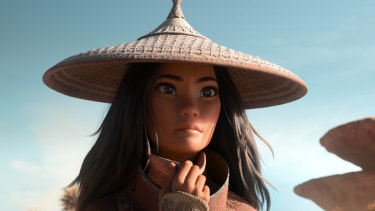 Raya, voiced by Kelly Marie Tran, is billed as Disney's first south east Asian princess.