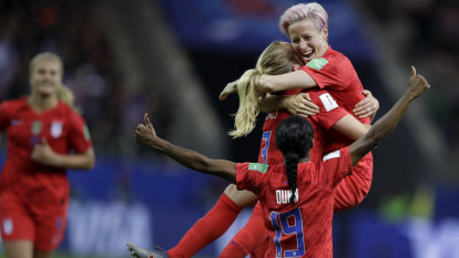 US soccer sets World Cup records with 13-0 rout of Thailand