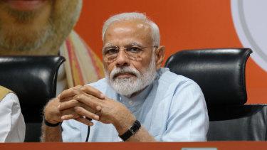India's Prime Minister NarendraModi.