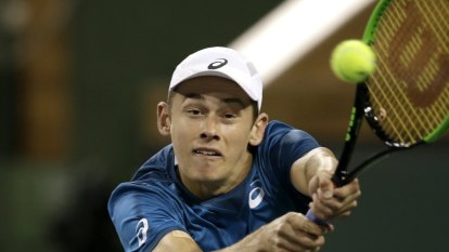 Alex De Minaur upset by world No.217 at Indian Wells
