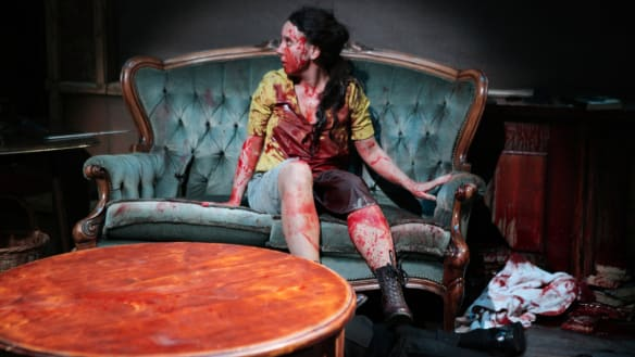 Homage to horror flicks a gory, glorious night out