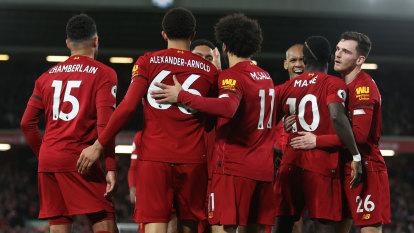 Gutsy Liverpool maintain unbeaten Premier League run