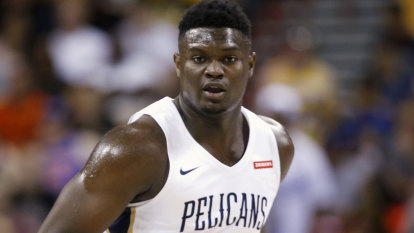 Zion's shoe deal richest ever for rookie