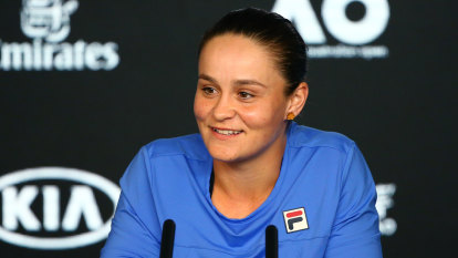 Home truths as Barty begins the long climb toward glory
