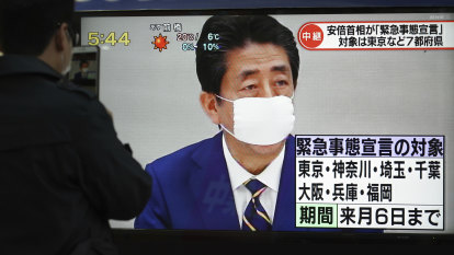 Japan's Shinzo Abe declares a state of emergency