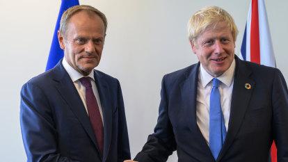 'Stupid blame game': Donald Tusk berates Boris Johnson as hopes of a deal fade