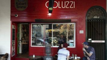 Bar Coluzzi in Darlinghurst, Sydney.