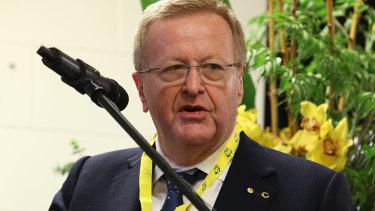 IOC vice-president and AOC president John Coates.