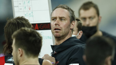 Essendon coach Ben Rutten has big plans for young midfielder Jye Caldwell.