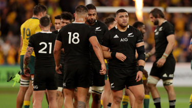 Third and last: The All Blacks have a lot to work on before the two teams clash again at Eden Park.