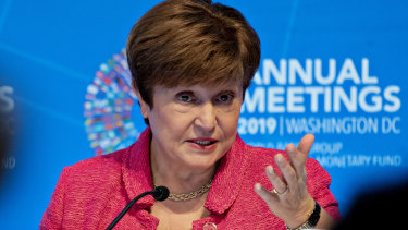 Kristalina Georgieva, managing director of the International Monetary Fund.