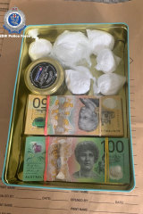 Following extensive inquiries, police executed four search warrants at a Byron Bay business and at homes in Byron Bay, Bangalow and Mullumbimby where they seized approximately 340 grams of cocaine, more than $25,000 cash and other proceeds of crime.
