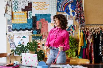 "Lisa Gorman has kept her brands' homewares ""fun and light'."