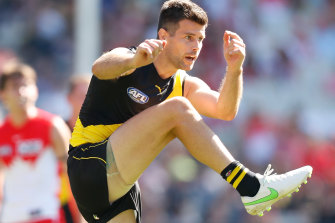 Trent Cotchin is likely to play on Saturday, despite hurting over his daughter's ill health in Melbourne.