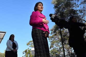 NSW Premier Gladys Berejiklian says the next few weeks will be critical in the state's fight against the virus.