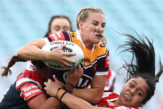 Ali Brigginshaw won her first Dally M Medal and led the Broncos to a third successive grand final win.