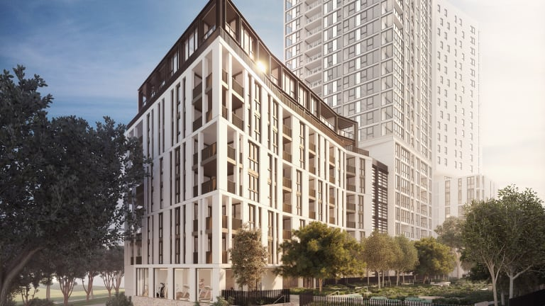 Mirvac's first build to rent property at Indigo Pavilions,Sydney Olympic Park in NSW,