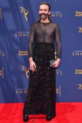 'Queer Eye' star Jonathan Van Ness rewrote the gender norms of red carpet dressing.
