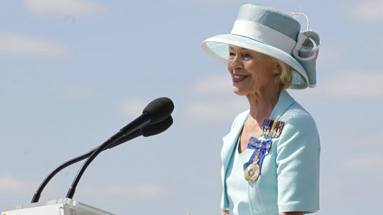 Quentin Bryce served as governor-general from 2008 to 2014.
