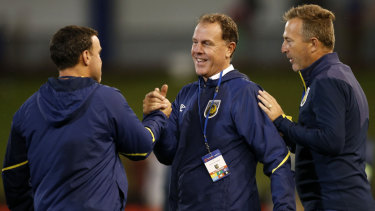 Alen Stajcic is enjoying the game again in charge of the Mariners.