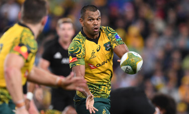 Kurtley Beale says the indigenous jersey can 'galvanise' the Wallabies.