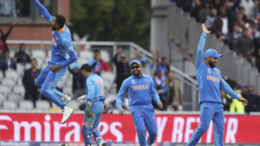 Dominance: India proved far too strong for Pakistan yet again.