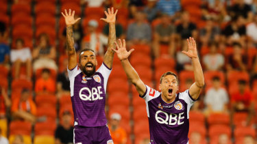 Perth Glory are clear at the top of the A-League table.