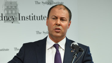 Josh Frydenberg says Labor's tax plans will hurt the economy at the worst possible time.
