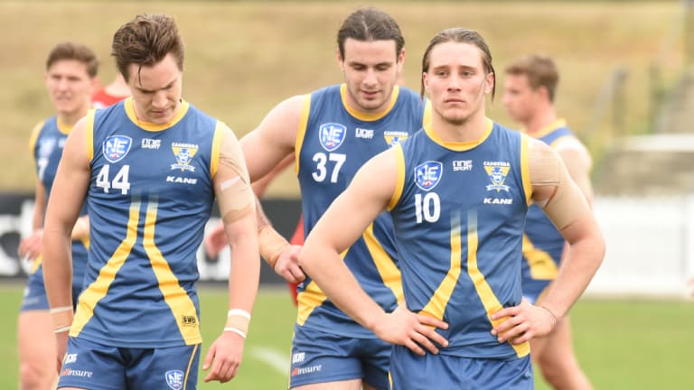 The Canberra Demons bowed out in the NEAFL preliminary final.