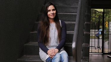 PhD student Sadia Alvi.
