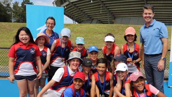 Telopea Park School win Todd Woodbridge Cup