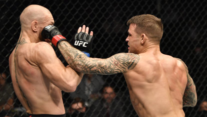 Poirier gets knockout victory over McGregor to plot new title shot