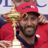 Americans send Europe a message in Ryder Cup rout led by rookies