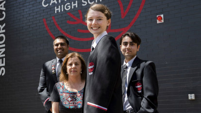 Cammeraygal High students first in their school to sit the HSC
