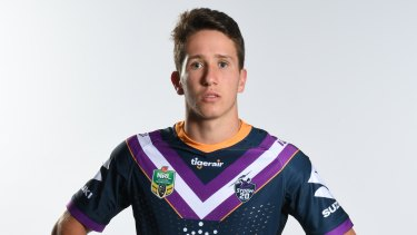 Strong stock: Cooper Johns, son of Matthew and nephew of Andrew, is in contention for the NRL this season.