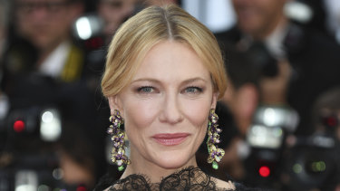 Cate Blanchett said choosing was extremely difficult.