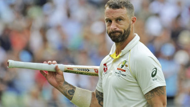 Matthew Wade cemented his spot in the side with 110 in the second innings at Edgbaston.