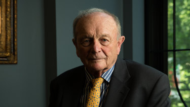 """It might fizzle out or it might become the next bubonic plague"": Harvey Norman executive chairman Gerry Harvey."