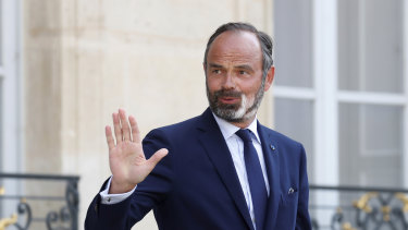 Outgoing French prime minister Edouard Philippe was elected mayor of Le Havre last month and is a potential future presidential contender.