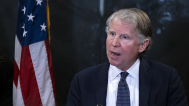 Manhattan District Attorney Cyrus Vance jnr.