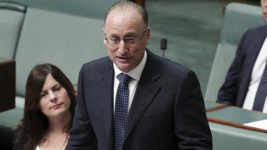 Liberal MP Steve Irons.
